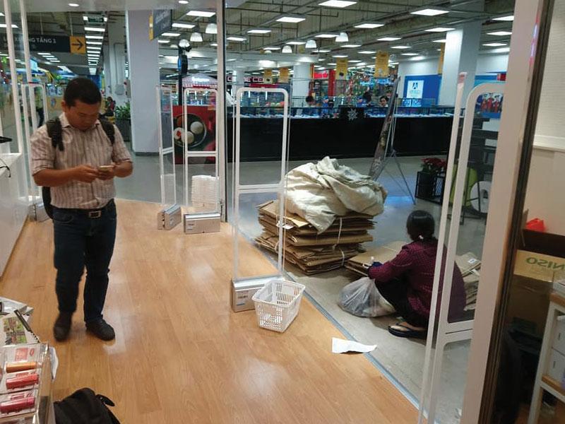 Công Trình Thi Công Lắp Đặt Cổng Từ Tại Hà Nội