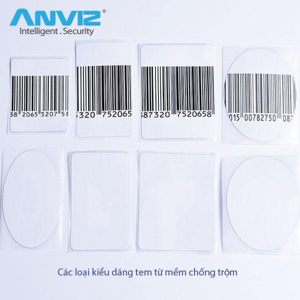 kích thước kiểu dáng các loại tem từ mềm