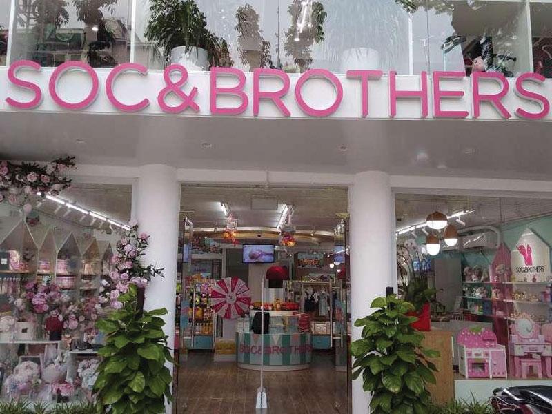 Lắp Cổng Từ An Ninh Cho Chuỗi SOC Brothers Nhật Bản